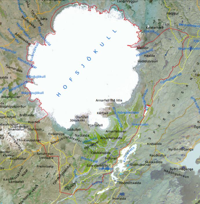 Fyrirhuguð stækkun friðlands í Þjórsárverum